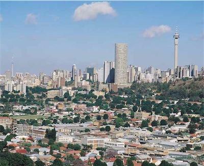 urban Johannesburg