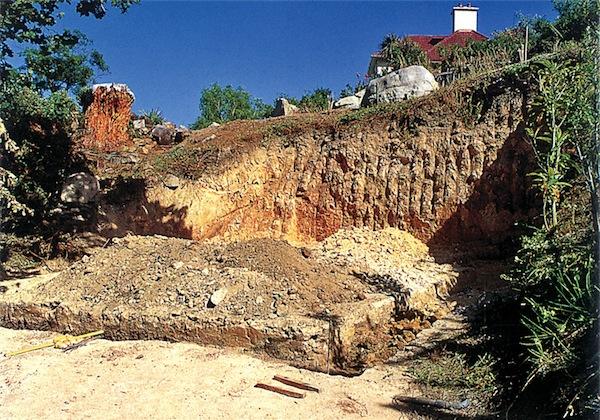 excavate a site