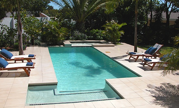 A Stunning Swimming Pool Would you need to submit plans for a pool like this? See the post below. Pool by Prime Pools