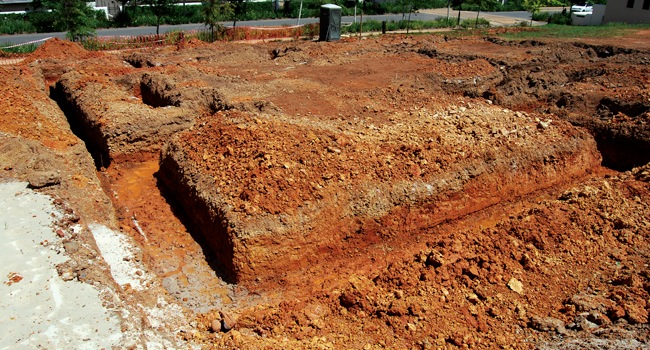 Foundation Trenches Sans10400 Building Regulations South